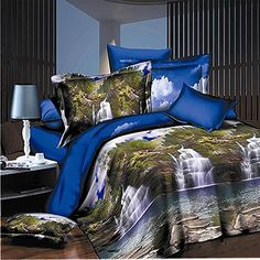 Home & Garden 4pcs Luxury Egypt Cotton Meteor Shower Bedding Set Applique Embroidery Duvet Cover Set Bedsheet Pillowcases Queen King Size Easy And Simple To Handle