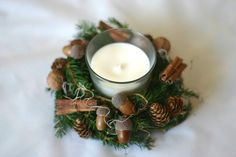 Flowers of Soul: Decorațiuni handmade pentru Crăciun Tea Lights, Wall Lights, Candle Sconces, Candles, Christmas, Home Decor, Corona, Xmas, Appliques