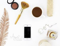 STYLE This styled photograph features a smart phone, a bottle of perfume, a bronze feather, a touch of LOVE, makeup and a cup of coffee. Perfect for your your instagram post.  IDEAL FOR Ideal for graphic artists, creative entrepreneurs, bloggers, online shop owners, marketers and Ιnstagram enthusiasts. THE STORY Be interested in others. The person who hopes to be interesting does not struggle to draw everyone's eyes to her. She keeps her eyes on everyone else. Find joy in your work, find…