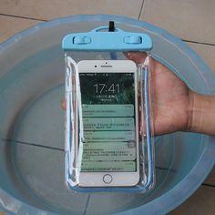 WUANGSUNE Waterproof Document Case Outdoor Travel Swim Package Phone Bag Sealed Luminous Night Waterproof Bag. Click visit to buy