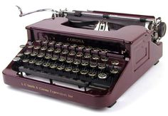 Corona Sterling, Silent portable typewriter of 1930s