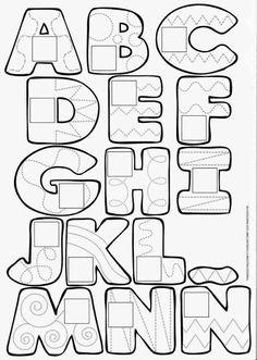 ART – Zentangle – Patterns / Lettering on We Heart It Alphabet Graffiti, Hand Lettering Alphabet, Doodle Lettering, Creative Lettering, Lettering Styles, Graffiti Lettering, Calligraphy Letters, Brush Lettering, Alphabet Stencils