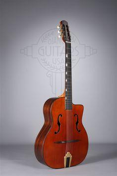 Altamira Gypsy Jazz guitar model M-01F Gypsy Jazz Guitar, Home Studio Music, Acoustic Guitars, Violin, Music Instruments, Tools, Amazing, Nature, Model