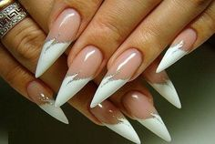 I found 'Wedding manicure classic nail tip with glitter nail polish ornament' on Wish, check it out! Fabulous Nails, Gorgeous Nails, White Nail Designs, Nail Art Designs, Nails Design, Fancy Nails, Trendy Nails, Glitter Nail Polish, Gel Nails