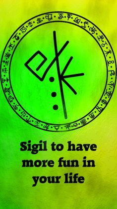 Sigil to have more fun in your lifeSigil requests are closed.
