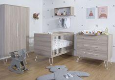 Modern Baby Furniture Set with Metal Legs Modern Baby Furniture, Nursery Furniture Sets, Childrens Bedroom Furniture, Kids Furniture, Furniture Outlet, Discount Furniture, Kids Bedroom, Bedroom Ideas, Yellow Nursery Decor