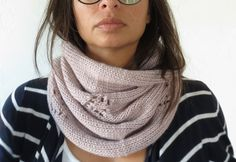 Knit Neck Warmer Scarf - aneelo