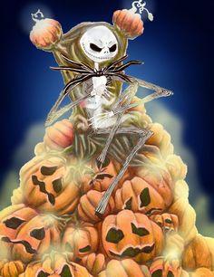 *JACK SKELLINGTON ~ The Nightmare Before Christmas, 1993....The Pumpkin King