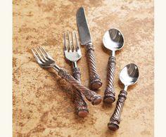 Castilla-Leon Copper Flatware -   NapaStyle