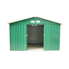 Dirty Pro ToolsTM METAL GARDEN SHED 10 X 8 with base #metalgardensheds