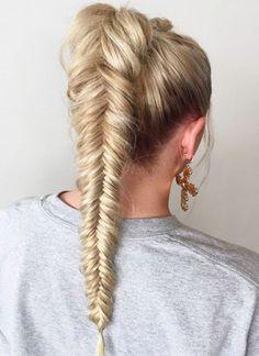 Mermaids Fishtail Hairstyles 2018