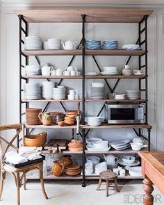 kitchen racks decor | Baker's Racks Done Right
