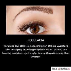 Pamiętaj o tym regulując brwi! - Kobieceinspiracje.pl Life Hacks, Beauty Hacks, Make Up, Skin Care, Tips, Polish, Vitreous Enamel, Beauty Tricks, Skincare Routine
