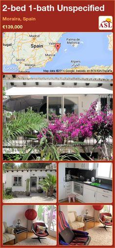 2-bed 1-bath Unspecified in Moraira, Spain ►€139,000 #PropertyForSaleInSpain