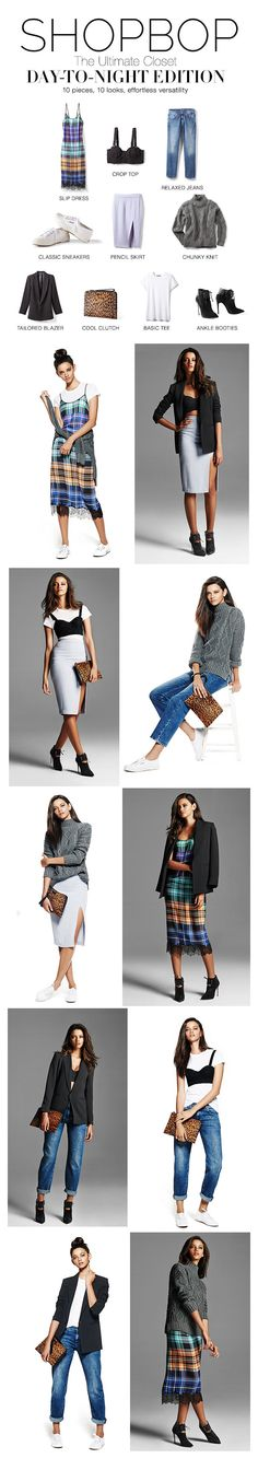 Shopbop – Ultimate Closet: Day-to-Night Edition