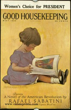 Good Housekeeping 1924, Jessie Willcox Smith, cover artist