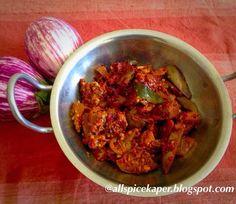 Allspice: Masala Brinjal/Eggplant-Masala Vaingan