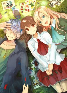 Garry, Mary and Ib