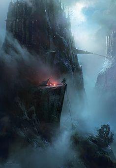 The Long Way Up by Cristi Balanescu | Fantasy | 2D | CGSociety