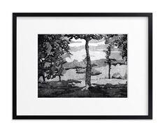 """North Carolina"" - Art Print by Adelina Simeonova in beautiful frame options and…"