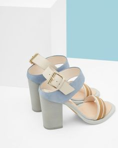 "These chunky heels feature in Ted Baker's fashion film ""Mission Impeccable"" and we are on a mission to get them... #ad"
