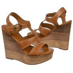 $109.99 Fergie Ibiza Sandals Tan Leather Women`s Sandals class