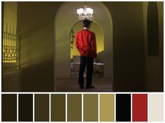 ": ""Tokyo Drifter"" (🇯🇵1966). •Directed by Seijun Suzuki •Cinematography: Shigeyoshi Mine •Production Design: Takeo Kimura Movie Color Palette, Colour Pallette, Cinematic Photography, Photoshop Photography, Color Patterns, Color Schemes, Film Composition, Cinema Colours, Mood Board Interior"