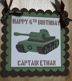 Think I'll steal some ideas from this since my son wants this theme for his 7th birthday party