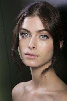 Dolce & Gabbana at Milan Fashion Week Fall 2014 - Livingly Runway Makeup, Beauty Makeup, Hair Beauty, Makeup Geek, Eye Makeup, Beauty Bay, Beauty Tips, Beauty Hacks, Facial For Dry Skin