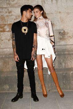 Top: boots gigi hadid jacket zayn malik paris fashion week 2016 model off-duty