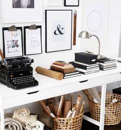 Crea un angolo dallo stile personale che valorizzi e metta in mostra la tua attività, gli strumenti che usi o i lavori che hai fatto - IKEA