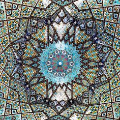 Photographer Mehrdad (aka @m1rasoulifard) tours the mesmerizing mosques of Iran and looks upward for inspiration. As he's wandering through both ancient and iconic mosques in his country, the artist mainly focuses on the designs that evoke an impressive amount of history. Since the mosque ceilings are his main muse, Mehrdad often finds sweeping mosaics and incredibly intricate works of geometry when he points his lens to the sky.
