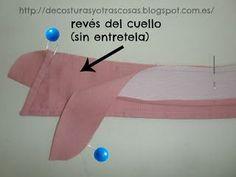 De costuras y otras cosas: CUELLO CAMISERO (TUTORIAL)