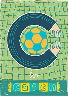 Alphabet gallery: C is for Catch (Paul Thurlby)