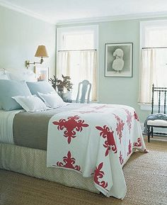 Ruth Burts Interiors: Great Paint Colors for Your Bedroom!