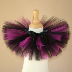 I make tutus so this is just a quick picture of the kind of tutus that I make.I did not make this one but I can and for a cheaper price =)