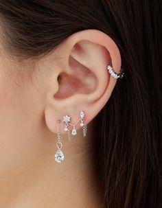 Maria Tash designer earrings