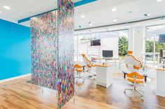 Children's Choice Pediatric Dentistry architecture, design, and construction in New Carrollton, MD | open bay