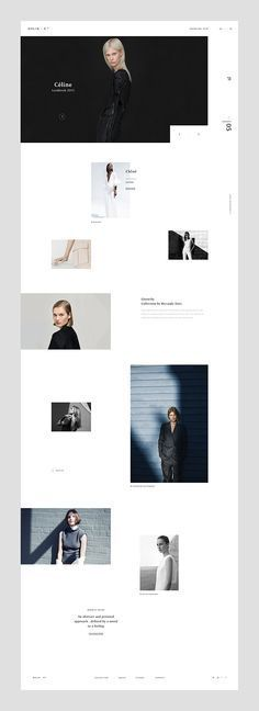 Minimal and Clean Web design layout for Blogger. Find more Inspiration at munichparisstudio.com