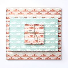 Esker Wrapping Paper Mint Green