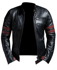 Laverapelle Men's Genuine Lambskin Leather Jacket (Black, Medium, Polyester Lining) – 1501535 – Fine Jewelry & Collectibles Lambskin Leather Jacket, Faux Leather Jackets, Leather Men, Real Leather, Black Leather, Biker Leather, Stylish Men, Men Casual, Mode Man