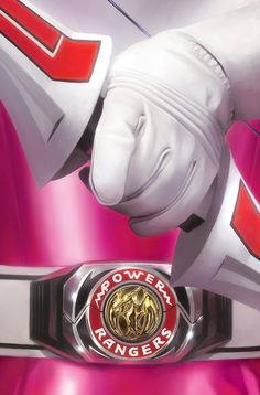 Pink Ranger by Miguel Mercado Power Rangers Tattoo, Power Rangers Comic, Pink Power Rangers, Power Rangers Pictures, Original Power Rangers, Power Rengers, Cartoon Tv Shows, Mighty Morphin Power Rangers, Painting Art
