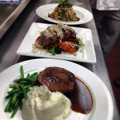 Check out Harry Caray's Italian Steakhouses' baseball inspired specials to celebrate Cubs Opening Day! Goat Confit Risotto, Bison Filet Salad and Prime Center-Cut Top Sirloin Baseball Steak