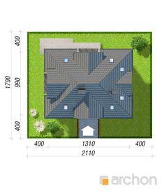 Projekt domu Dom w śliwach 2 - ARCHON+ Floor Plans, Diagram, Blue Prints, Floor Plan Drawing, House Floor Plans