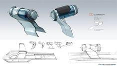 Renault Trezor sketches by Laurent Negroni