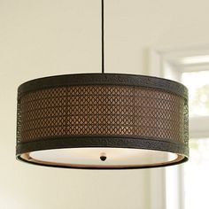Navarra 3 Light Pendant - I love this lamp.  I want it, I want it, I want it.  It would go wonderfully in my office.