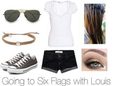 Going to six flag with Lou