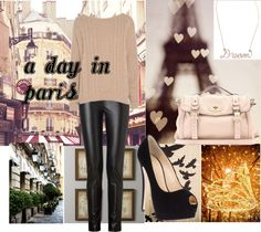 """""""A Day In Paris"""" by beautydesk on Polyvore"""