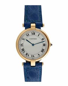 Cartier Women's 1980s 'Vendome' Watch