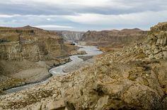 the big canyon after the dettifoss waterfall is named jökulsarglijufur Iceland, Grand Canyon, Waterfall, Big, Nature, Travel, Ice Land, Naturaleza, Viajes